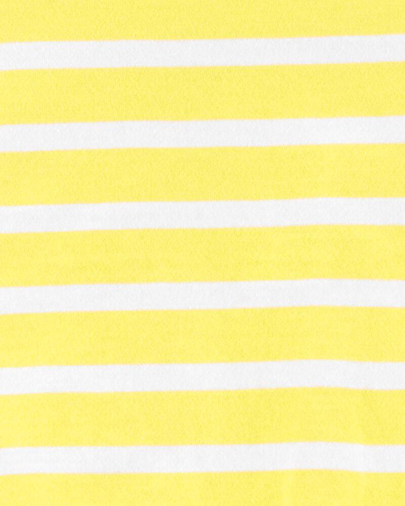 Striped Tie-Front Jersey Tee, , hi-res