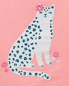 Leopard Jersey Tee, , hi-res