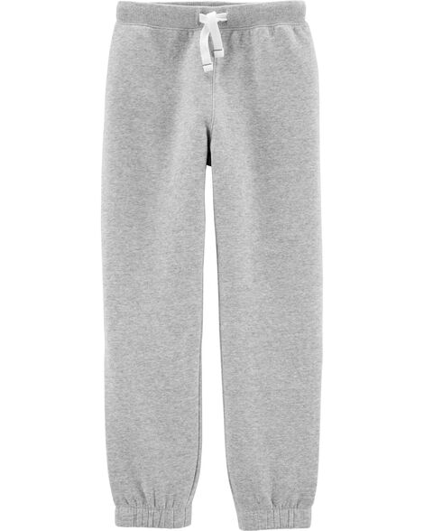 Pull-On Fleece-Lined Joggers
