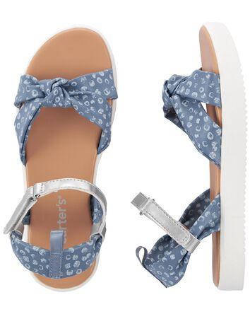 Sandales chambray