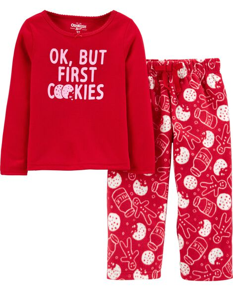 2-Piece Cookies PJs