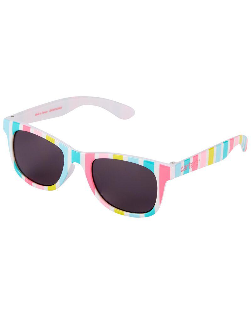 Striped Classic Sunglasses, , hi-res