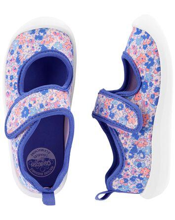 Chaussures d'eau fleuries