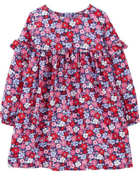 Floral Drapey Dress