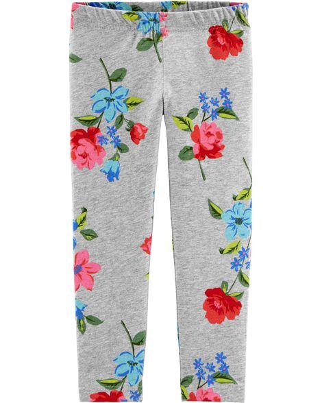 Legging fleuri