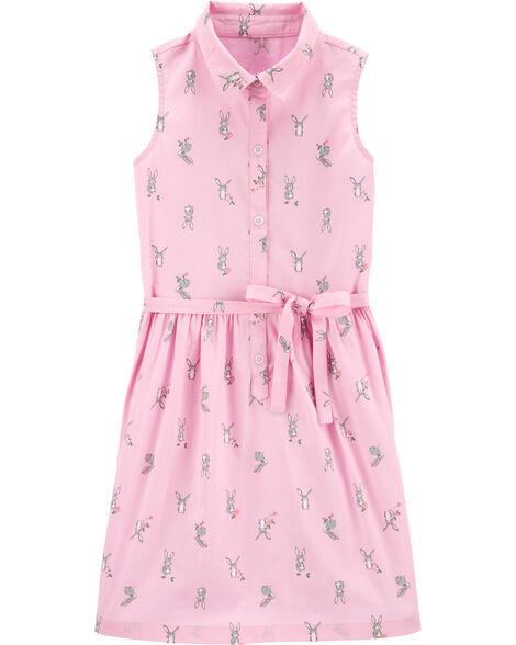 Easter Bunny Shirt Dress