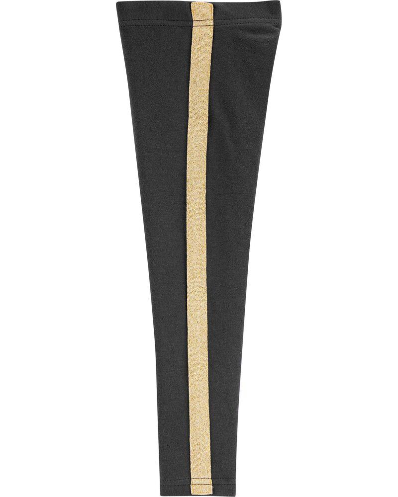 Legging à rayures scintillantes , , hi-res