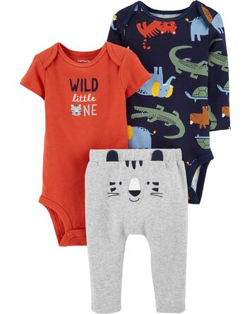 3-Piece Tiger Little Character Set