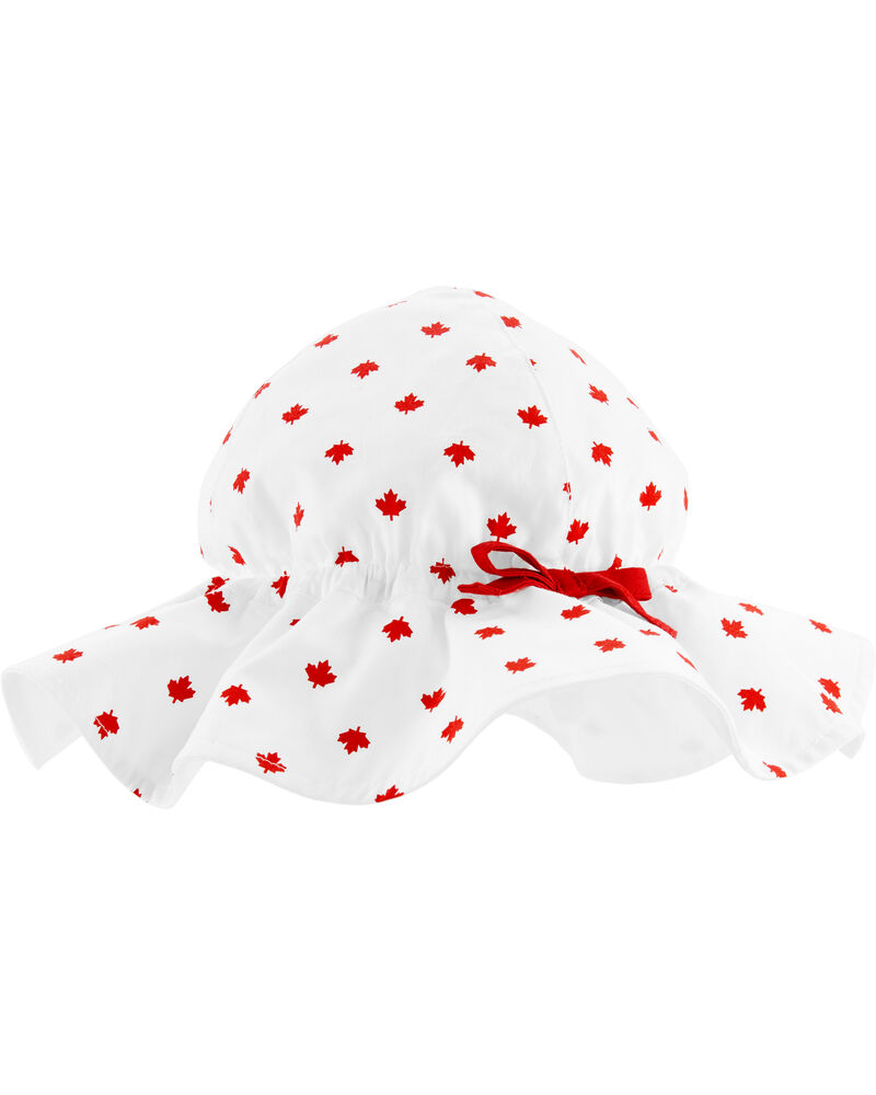 Canada Day Sun Hat, , hi-res