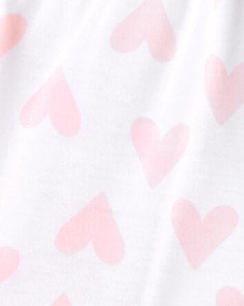 3-Piece Hearts Loose Fit PJs