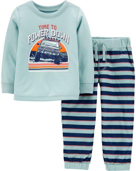 Pyjama 2 pièces Power Down