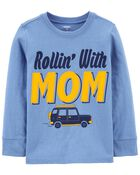 T-shirt en jersey Rollin' with Mom, , hi-res