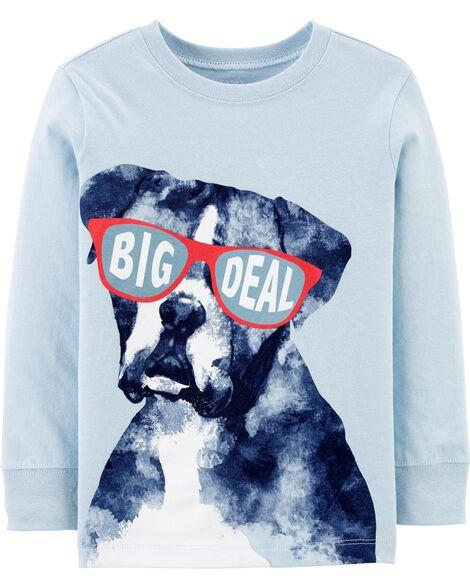 T-shirt en jersey Big Deal Dog