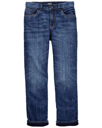 Microfleece-Lined Jeans - Original...