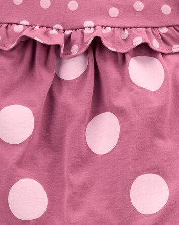 3-Piece Polka Dot Little Short Set