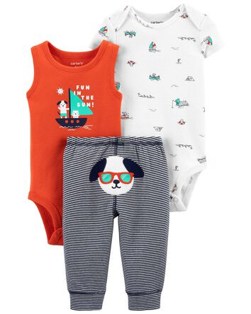 3-Piece Sailboat Little Character S...