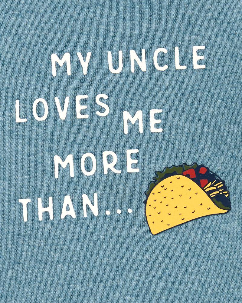 My Uncle Loves Me More Than Tacos Original Bodysuit, , hi-res