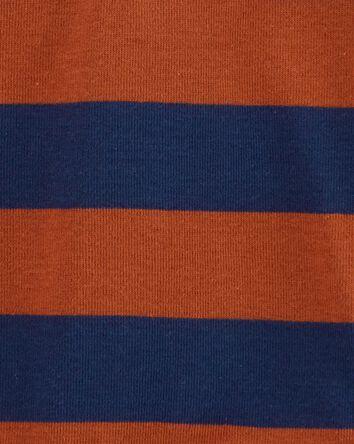 Striped Long-Sleeve Bodysuit