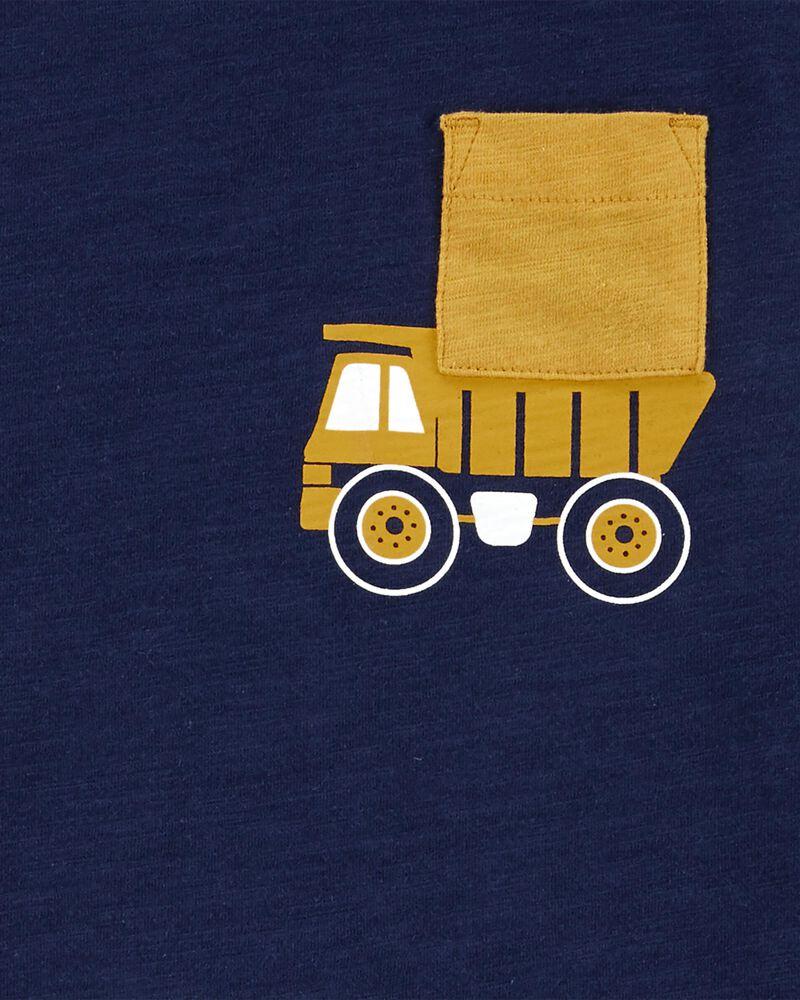 Ensemble 2 pièces t-shirt de construction et short, , hi-res