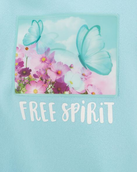 Butterfly Dreamy Motion Graphic Pullover