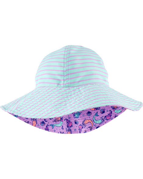 Chapeau cloche réversible à sirène