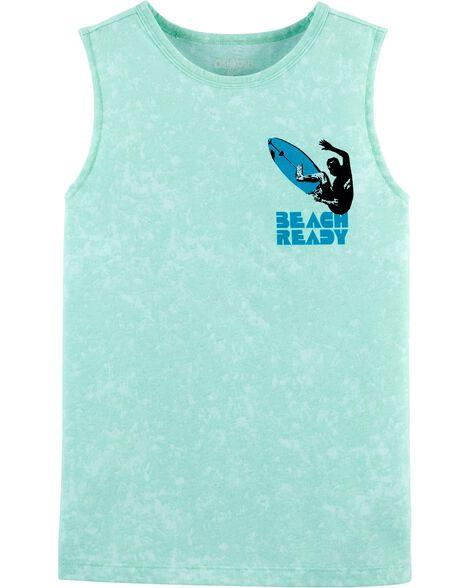 T-shirt sans manches Beach Ready