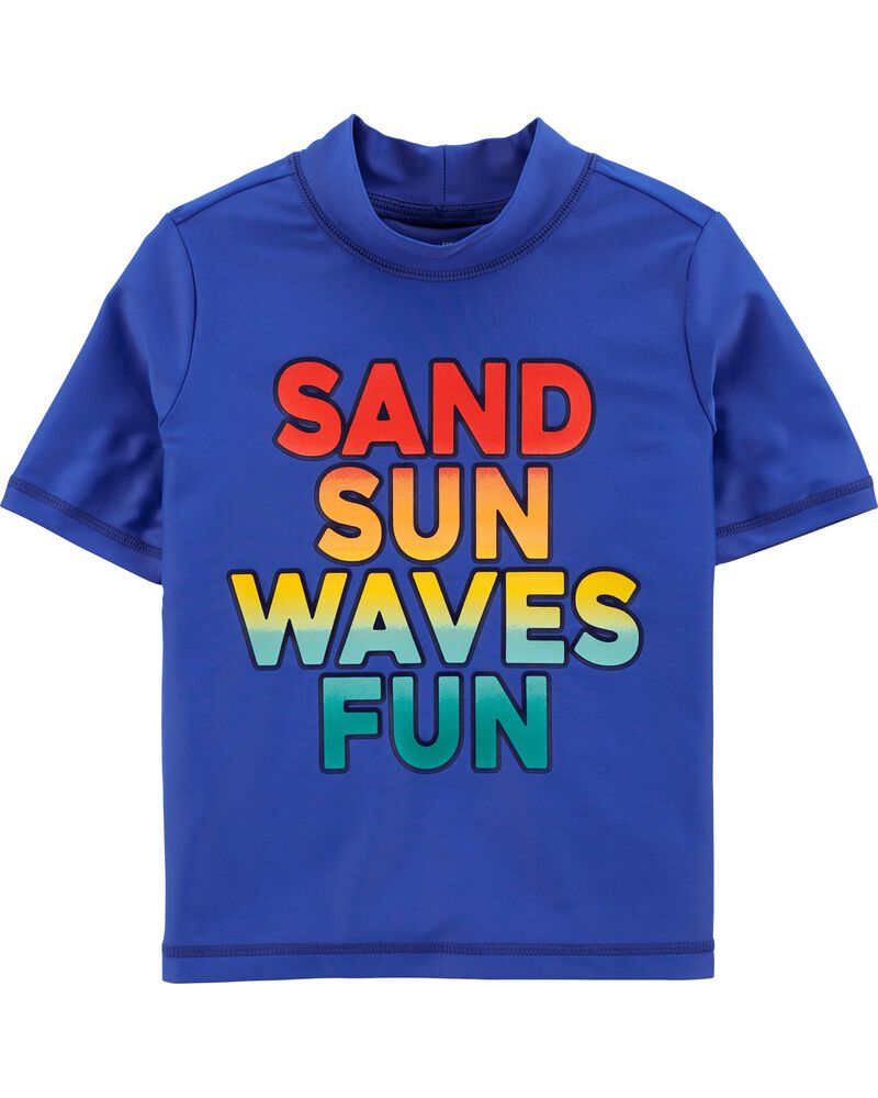 Waves Rashguard, , hi-res
