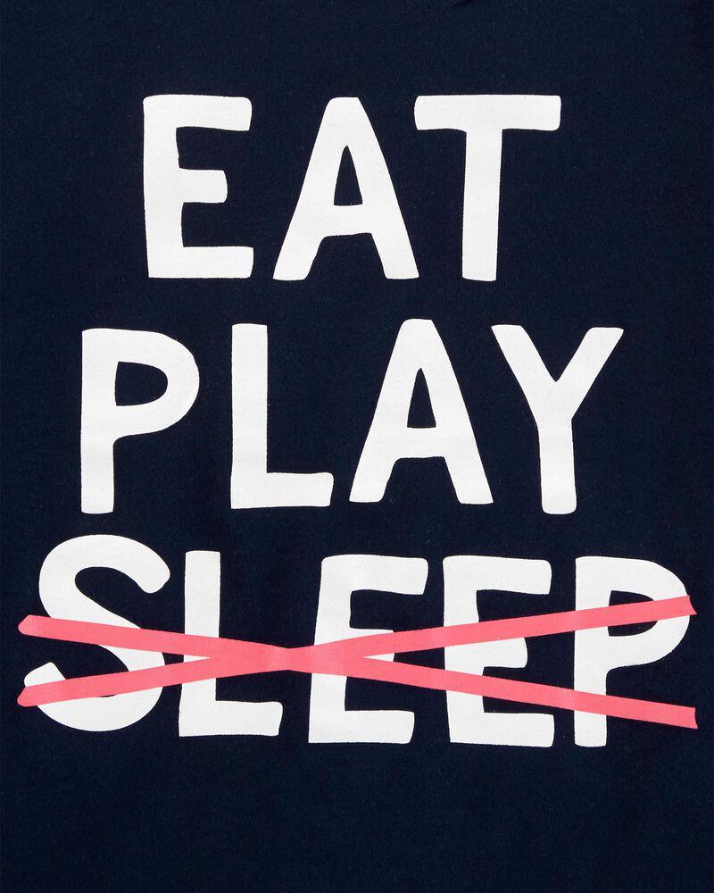 T-shirt à imprimé original Eat Play Sleep, , hi-res