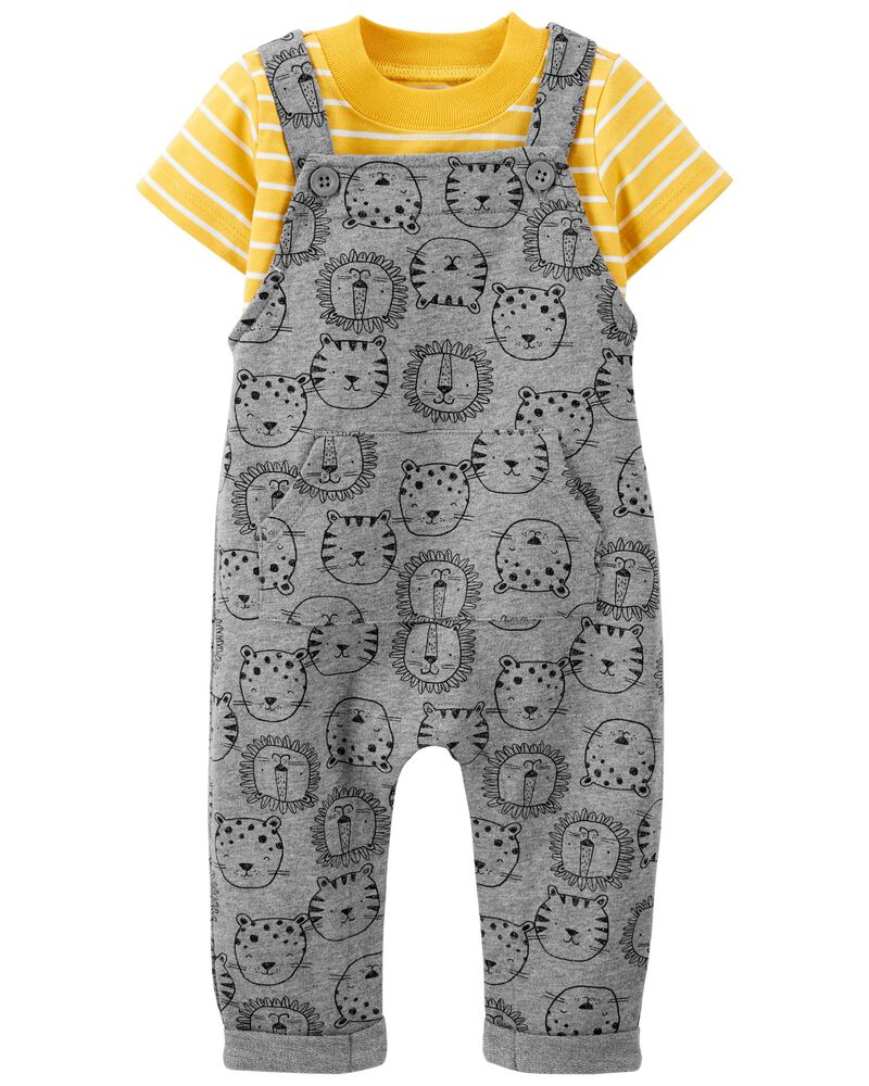 2-Piece Tee & Coverall Set, , hi-res