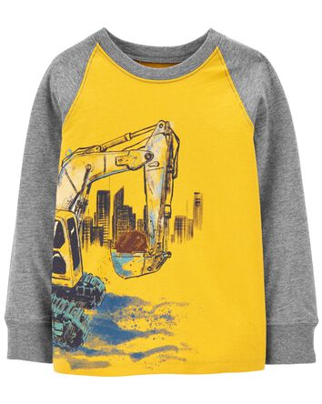 T-shirt à bouteur