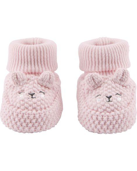 Chaussettes de bébé à oursons