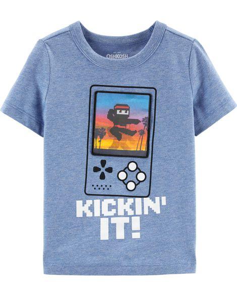 T-shirt de ninja en action