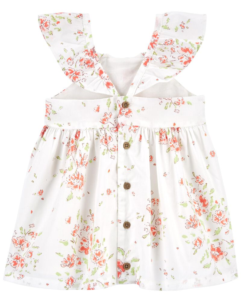 Floral Flutter Dress, , hi-res