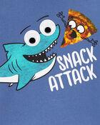 Shark Eye Roll Graphic Tee, , hi-res