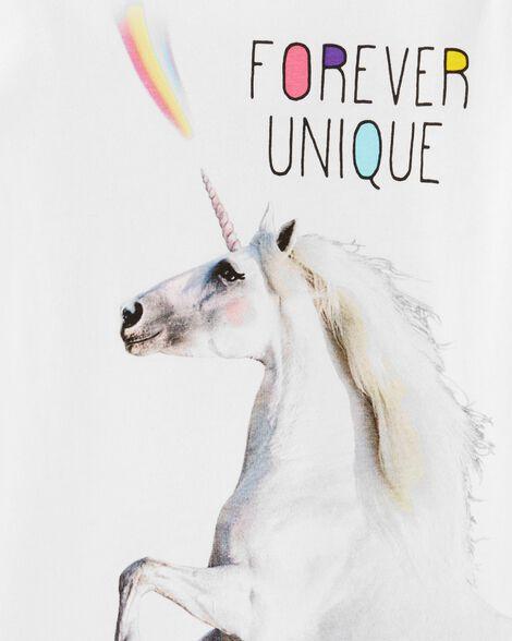 Unicorn Bow Back Jersey Tee