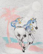 Haut écourté à cheval fleuri, , hi-res