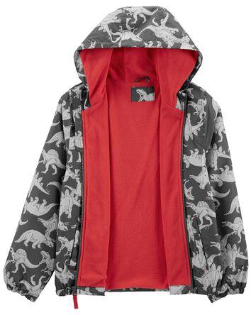 Fleece-Lined Dinosaur Jacket