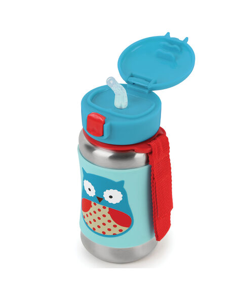 Zoo Stainless Steel Little Kid Straw Bottle Carter S