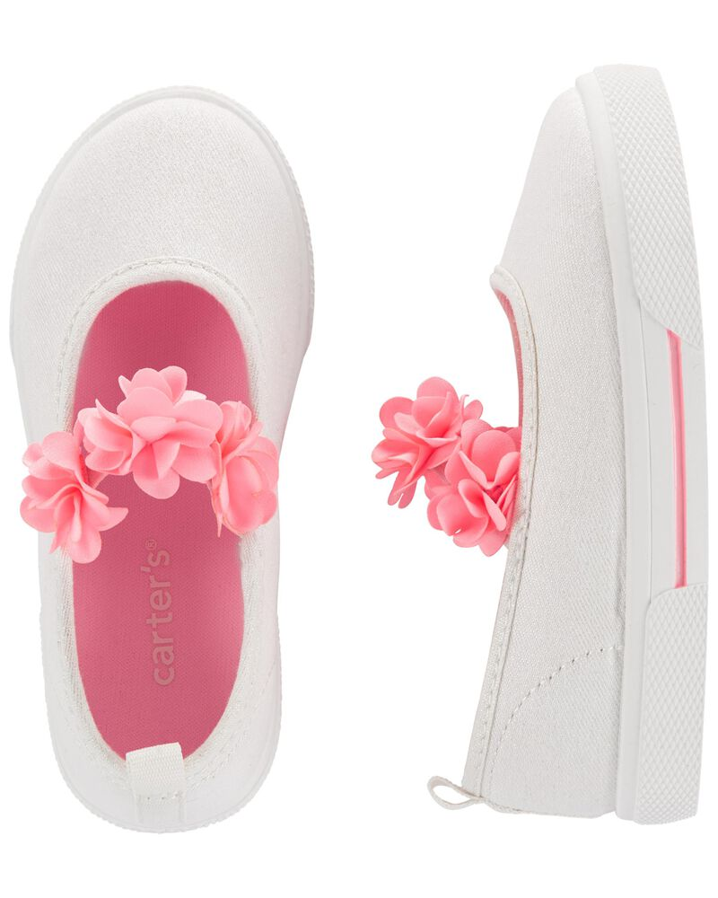 Chaussures de style Mary Jane fleuries, , hi-res