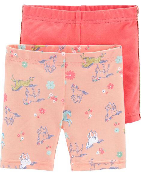 Emballage de 2 shorts à cheval