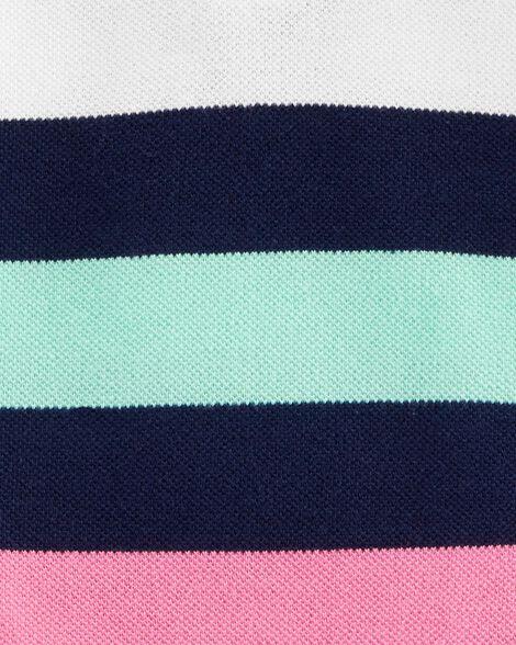 Piqué Polo Bodysuit