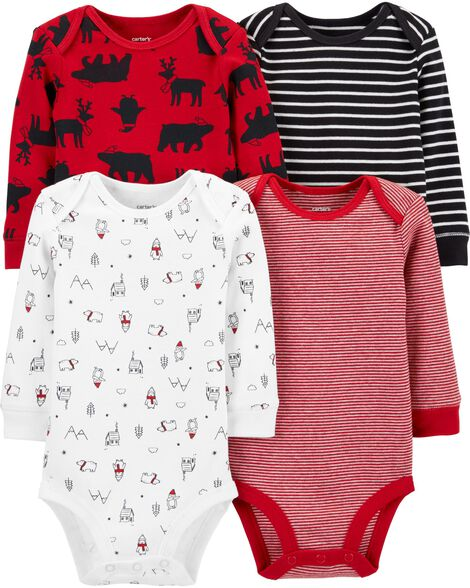 4-Pack Holiday Original Bodysuits