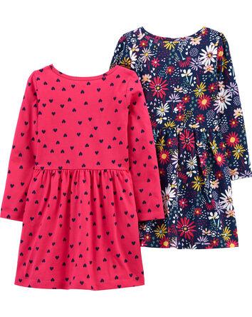 2-Piece Jersey Dresses