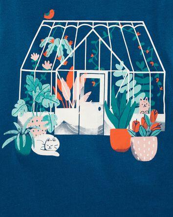 T-shirt en jersey Green House