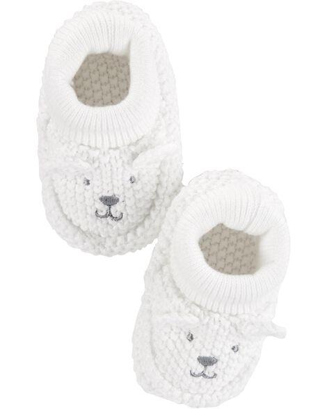 Chaussons en tricot pour bébé