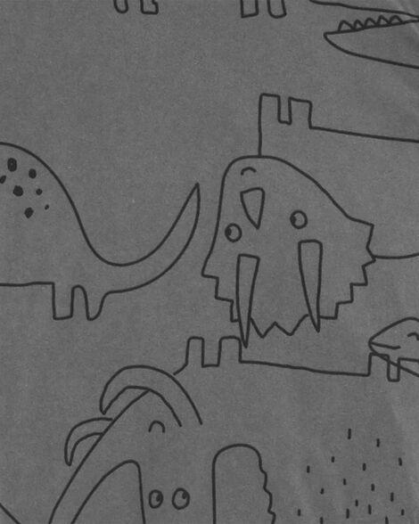 Coupe-vent à dinosaures