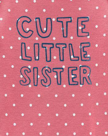 Cache-couche Cute Little Sister