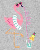Flamingo Racerback Tank, , hi-res