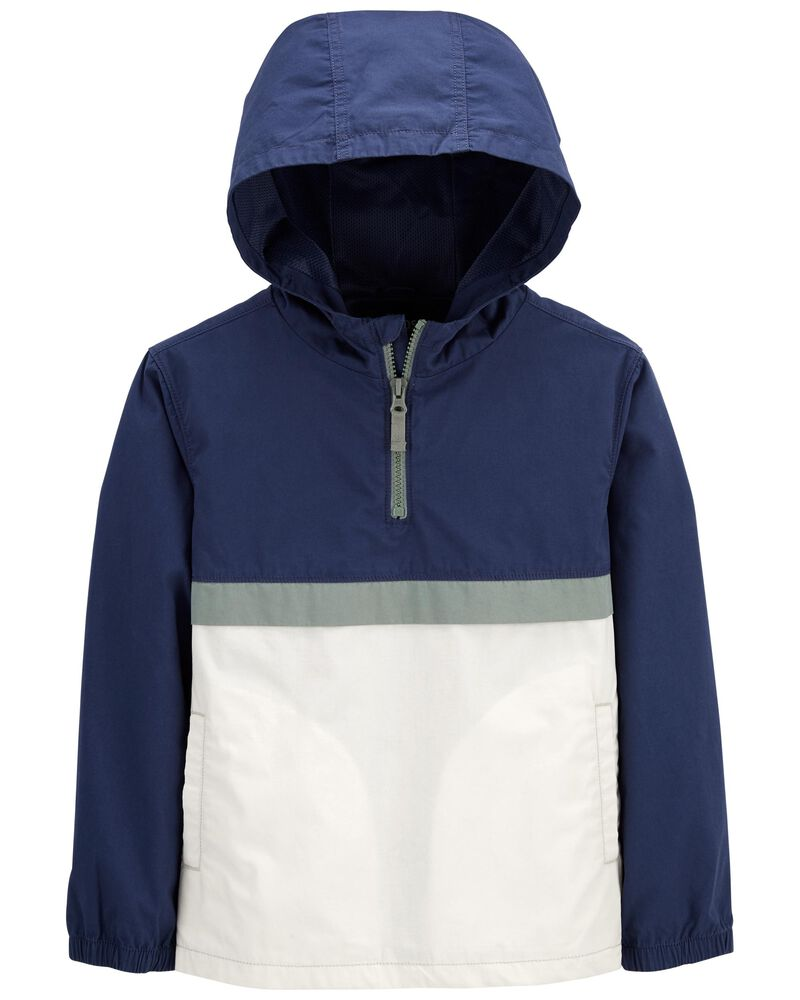 Hooded Pullover Jacket, , hi-res