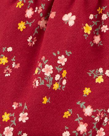Floral Fleece Jumpsuit